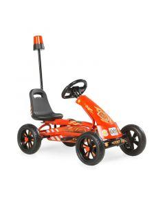 Exit - Foxy Fire Skelter Go Kart - Rood