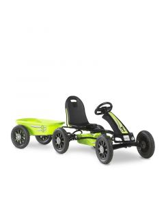 Exit - Spider Green Skelter Go Kart Met Aanhangwagen - Groen