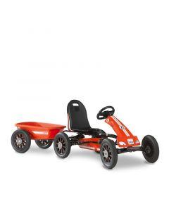 Exit - Spider Race Skelter Go Kart Met Aanhangwagen - Rood