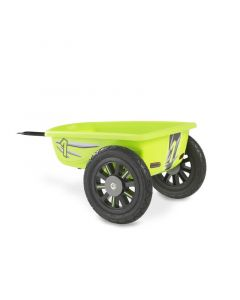Exit - Spider Green And Cheetah Go-Kart Trailer - Groen - Aanhangwagen