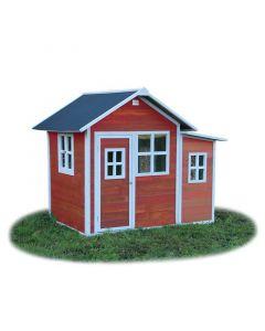 Exit - Loft 150 Red - Houten speelhuisje