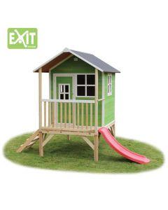 Exit - Loft 300 Green - Houten speelhuisje