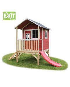 Exit - Loft 300 Red - Houten speelhuisje
