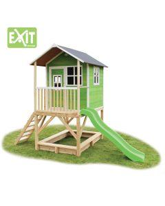 Exit - Loft 500 Green - Houten speelhuisje