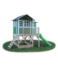Exit - Loft 750 Green - Houten speelhuisje