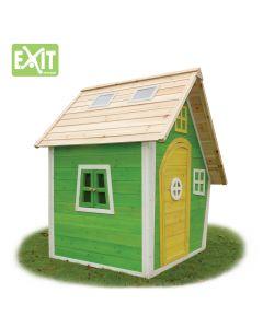 Exit - Fantasia 100 Groen - Houten speelhuisje