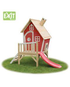 Exit - Fantasia 300 Rood - Houten speelhuisje