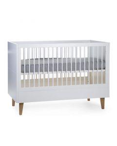 Childhome - Lalande Wit Babybed 60x120 + Lattenbodem