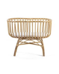Childhome - Wieg Cradle In Rattan + Matras