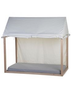 Childhome - Huis Bedframe Cover - 70x140 cm - Wit