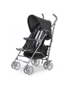 Childhome - Buggy 5 Pos Alu - Grijs/Wit Retro Stripes
