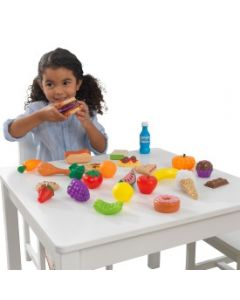 Kidkraft - Kunststof speelgoedeten - Set van 30