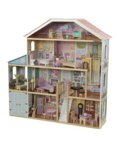 KidKraft - Grand View Mansion Poppenhuis Met EZ Kraft Assembly™