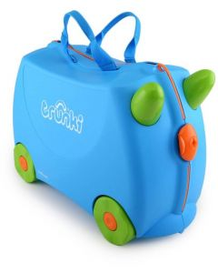 Trunki - Terrance Blauw - Ride-on en reiskoffer