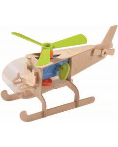 Haba - Bouwpakket Helikopter - Hout