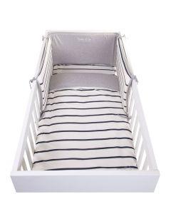 Childhome - Bedbeschermer - 35x170 cm - Jersey Marin