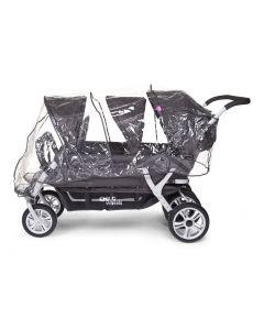 Childhome - Regenhoes Voor Meerlingwagen CWSIX
