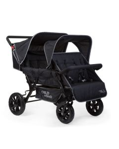 Childhome - Meerlingwagen Two By Two voor 4 Kinderen