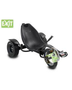 Exit - Driewiel Carver Triker Pro 50 - Black - Go cart