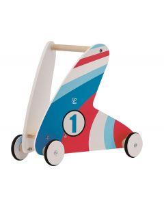 Hape - Step & Stroll - Racing Stripes - Houten loopwagen