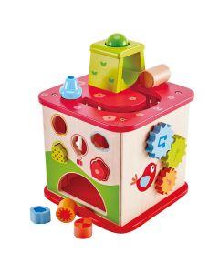 Hape - Friendship Play Cube - Activiteitenkubus