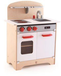 Hape - White Gourmet Kitchen - Houten Kinderkeuken