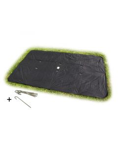 Exit - Afdekhoes vierkant S. G. L. 214x366 - Voor uw trampoline