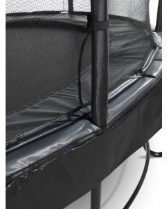 Exit - Elegant Premium Trampoline + Veiligheidsnet Deluxe - Zwart