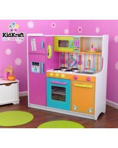 Kidkraft - Grote Vrolijke Luxe Kinderkeuken