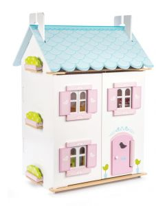 Le Toy Van - Blue Bird Cottage - Houten poppenhuis