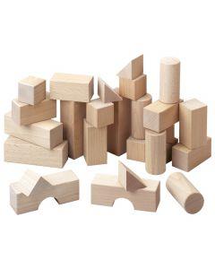 Haba - Bouwblokken - Basispakket - Hout