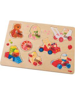 Haba - Inlegpuzzel Mijn Eerste Speelgoed