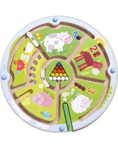 Haba - Magneetspel Getallenlabyrint