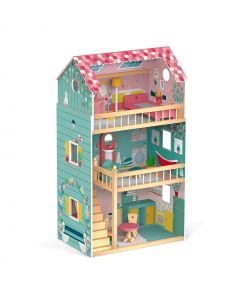 Janod - Poppenhuis Happy Day - Hout
