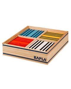 Kapla - Bouwblokjes - 100 stuks - 8 Kleuren