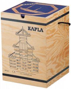 Kapla - Bouwblokjes - 280 stuks + Boek Blauw