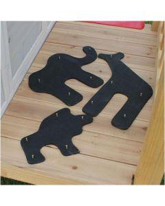 Exit - Safari Krijtbord Kit - Voor speelhuisjes