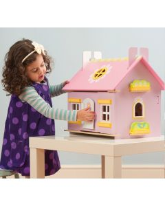 Le Toy Van - Daisy Cottage - Houten poppenhuis