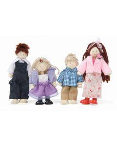 Le Toy Van - Poppen Familie - Voor poppenhuis