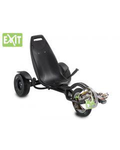 Exit - Ligfiets Triker Pro 100 - Zwart - Go cart