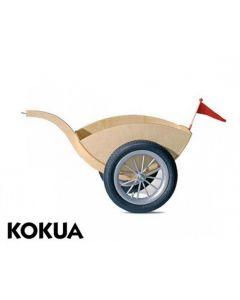 Kokua - LIKEaBIKE - Aanhangwagen – Zilveren spaakwielen