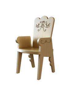 Magis Me Too - Reiet Kinderstoel - Geel
