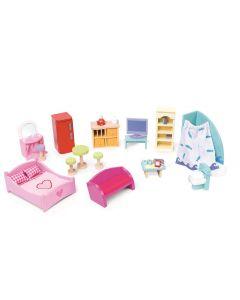Le Toy Van - Meubelset - Voor poppenhuis