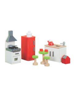 Le Toy Van - Keuken Sugar Plum - Voor poppenhuis