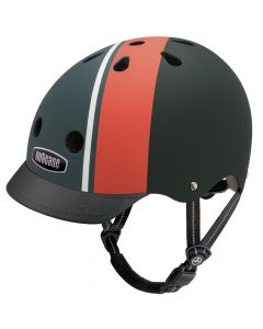 Nutcase - Street Element Stripe Matte - L - Fietshelm (60-64cm)