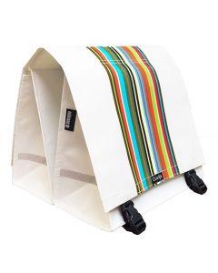 Clarijs - Technicolor XL - 44L - Fietstas