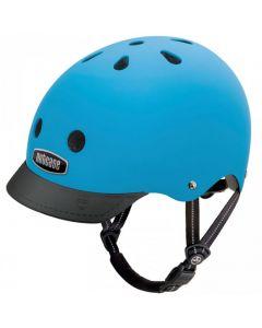 Nutcase - Street Bay Blue Matte - M - Fietshelm (56-60cm)