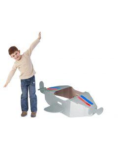 Paperpod - Kartonnen Vliegtuig Wit