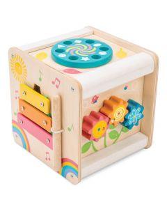 Le Toy Van - Kleine activiteitenkubus – Hout