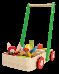 Plan Toys - Bird Walker - Houten loopwagen